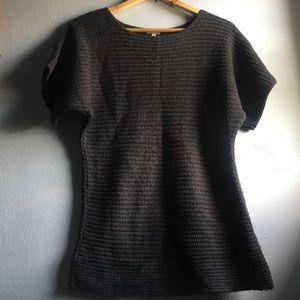 MAURICES Waffle knit Sweater/Tunic EUC